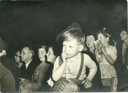 The Laidlaw family at the Circus 1952