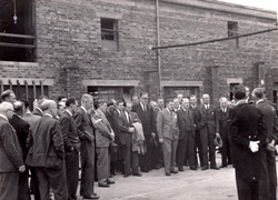Staff And Visitors At Leith Roperie On Occasion Of Lord Provost Falconer Launching New Nylon Sales Van c.1946