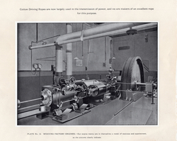 Weaving Factory Engine At Leith Roperie c.1906