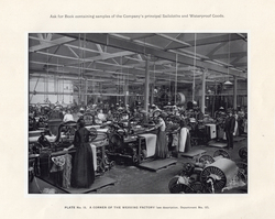 Women Weaving Canvas At Leith Roperie c.1906