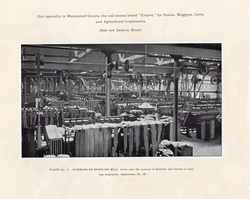 Interior Of Spinning Mill For Weaving Of Sailcoth And Canvas At Leith Roperie c.1906
