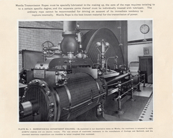 Engine For The Leith Roperie Rope-Spinning Department c.1906