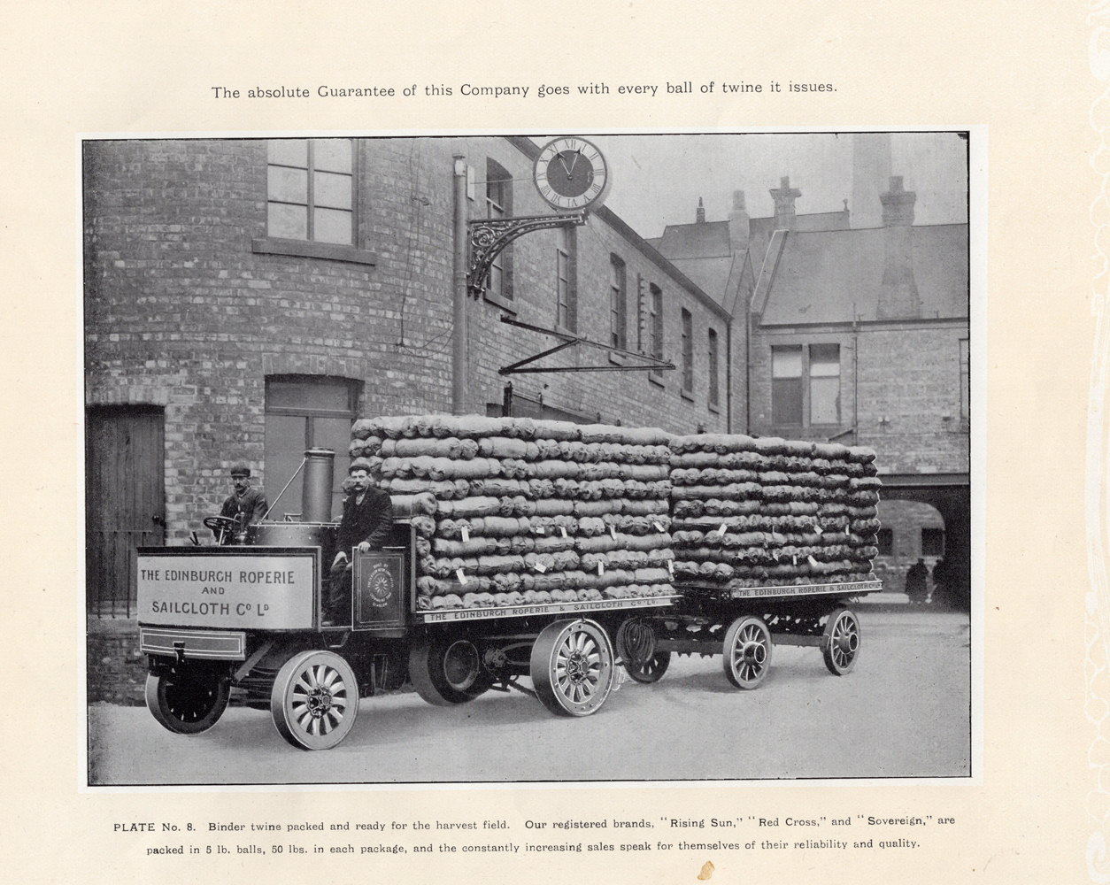 Leith Roperie - Binder Twine Packed And Ready For The Harvest Field c.1906