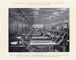 Leith Roperie Rope-Spinning Department - A Spinning Pass c.1906