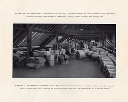 Coils Of Rope In Leith Roperie Rope-Packing Department c.1906