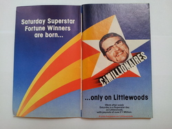Saturday Superstar winners on Littlewoods Pools