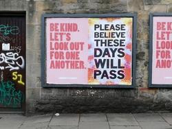 Edinburgh 2020 Community is Kindness Posters