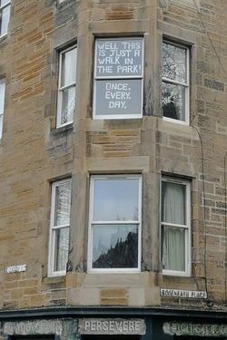 Edinburgh 2020 Messages from above