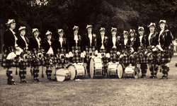Jean Carnie's School Of Dance Pipe Band 1960s