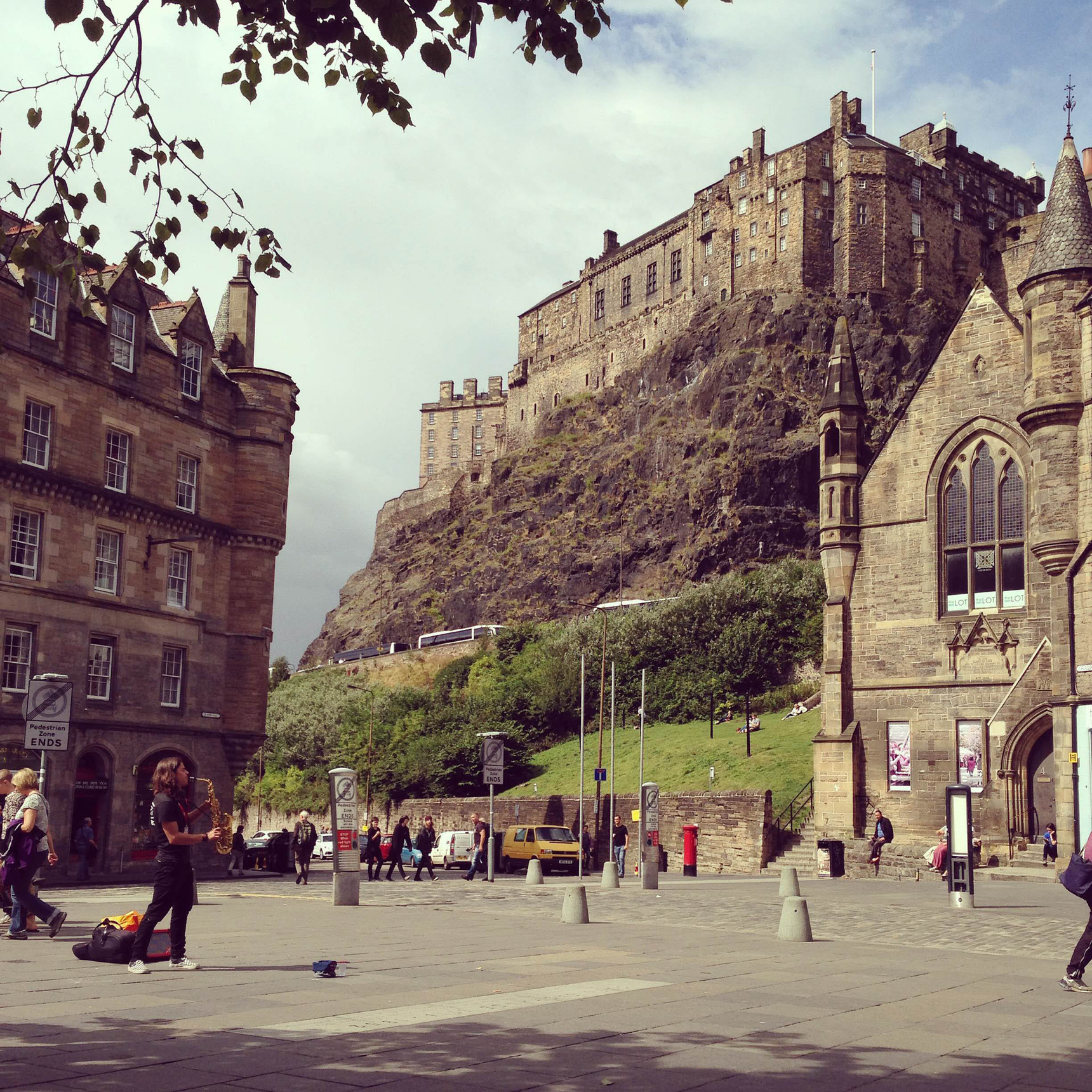 A Grassmarket Lunchtime