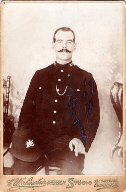 Studio Portrait Edinburgh Policeman c.1910